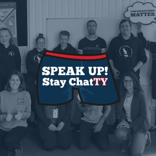 SPEAK UP! Stay ChatTY